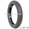 3.25-18 para neumáticos sin cámara de aire de la motocicleta
