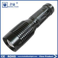 torch waterproof cree led flashlight emergency police security led flashlight glare zoom military led flashlight