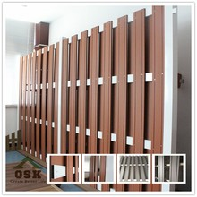 European outdoor basic wpc fence for garden decoration 1800*1800mm with 143*13 board