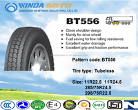 chinese used radial truck tyres 11R24.5