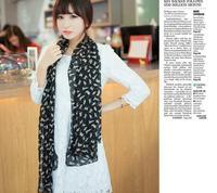Женский шарф 90 * 90 d/061 160*50cm