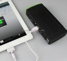 16000mAh jump starter for 12v car start battery pack with 16000mah high power 12V AUTO jump starter battery