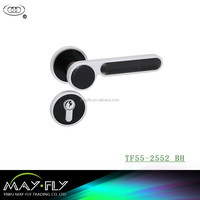 Hot Sale High Quality Tri-Circle ALuminium Alloy handle mortise door locks/motise door lock