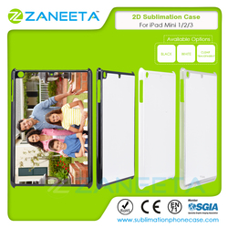 2D PC blank costomized printable sublimation case for iPad Mini 1/2/3