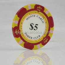 High Quality Custom Logo Poker Chips Promotion Poker Chips (KL036)
