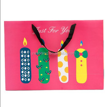 factory nice design children Birthday packaging paper bag