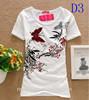 2014 Fashion Good Quality Cotton T Shirt Womentops Round Neck T-Shirts Tee Shirts For Women