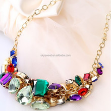 European and American foreign trade diamond necklace,collar necklace jewelry