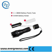 LED Flashlight Torch Adjustable Focus Zoom Light Lamp for Riding, Camping, Hiking, Hunting & Indoor Activities