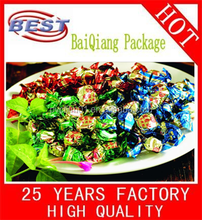PVC Twist Film For Candy , Beef ,Food Packaging, Wrapping Packaging