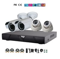 High Performance 4CH DVR Sony CCD 700TVL Camera 4ch dvr Kit Full D1 4ch DVR 3G Mobile Phone IE View DK43