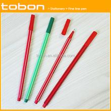 P050 wholesale plastic fine line pen for office and school, fineliner pen,liquid pen