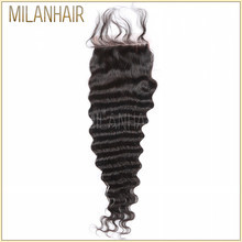 Alibaba In Russian Magnetic Fake Scalp Human Hair With Closure