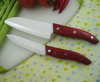 "High Quality 5""+6"" Ceramic Knife with Wooden Handle"