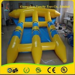 0.9mm PVC Summer Water Sports flying fish/fly fish banana boat/flying fish toys