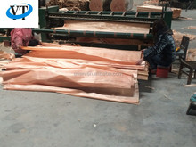 Masterpiece Natural 0.3mm 3'*7' Okoume wood face veneer for Door furniture Linyi factory professinal manufactures