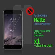 "4.7"" Mate Screen Protector Cover for Apple iPhone 6 6s protective film Anti Glare film For iPhone 6 Air 4.7 Inch PE"