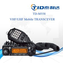vhf uhf 60w mobile transceiver with keypad/manual programmable