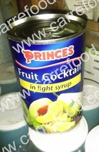 Fancy Canned Cocktail Fruit in tin with 15 oz