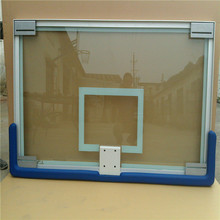 Wholesale Basketball equipment backboard with tempered glass and aluminum