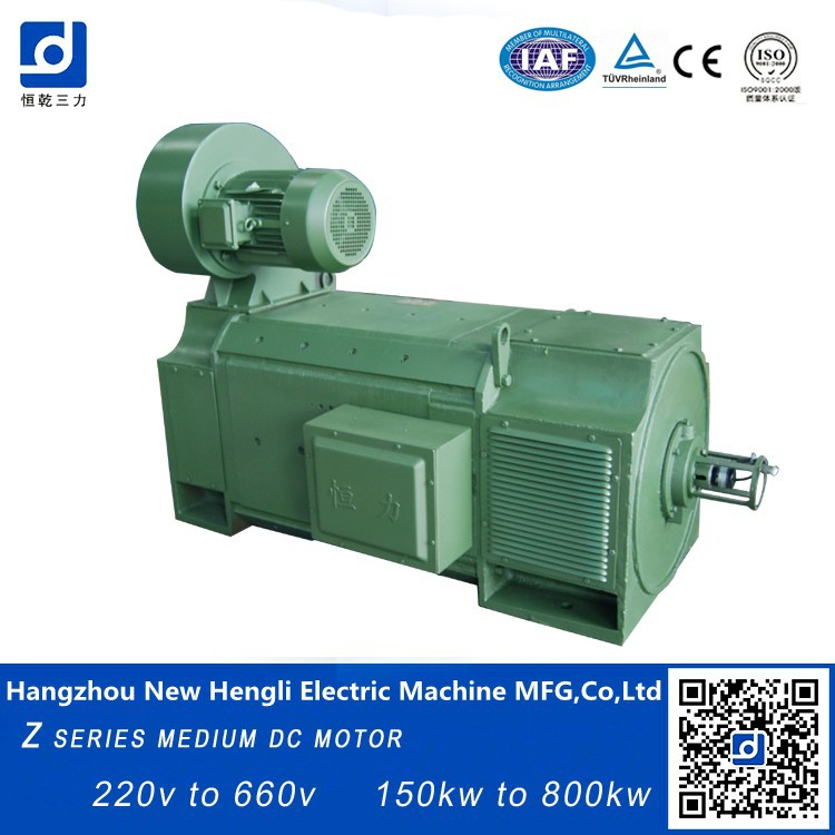 High quality 100kw 440v 80 hp brush electric dc motor for 100 hp electric motor price