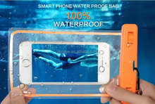 2015 outdoor mobile phone waterproof bag and cell phone waterproof