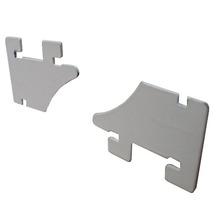 estante de metal soporte de góndola estanterías de aluminio soporte soporte de estante estantes para