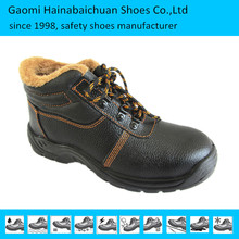 Chemical resistant anti penetration safety shoes with steel toe