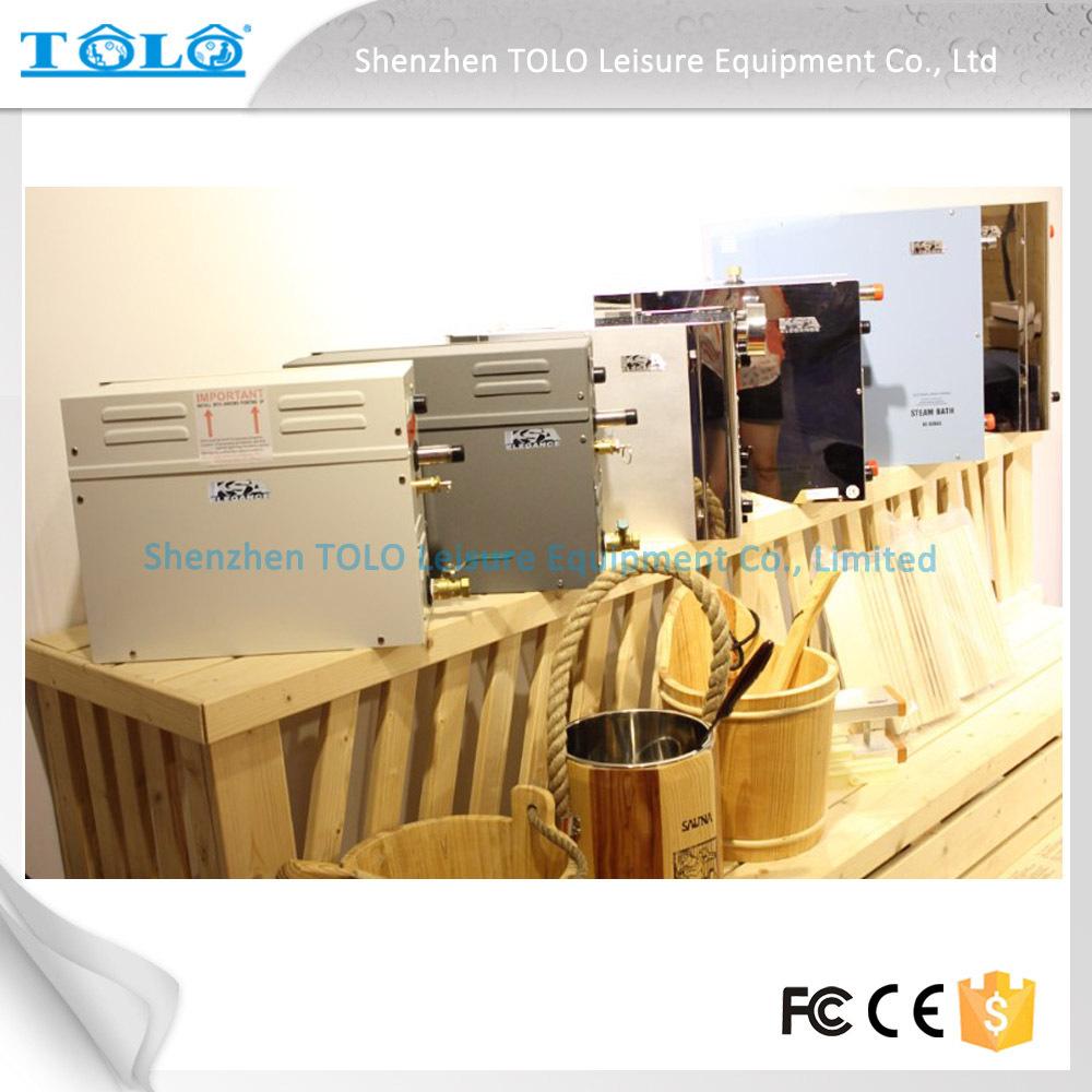 Modèle d'accueil hammam sauna bains, Helo des générateurs de vapeur à vendre