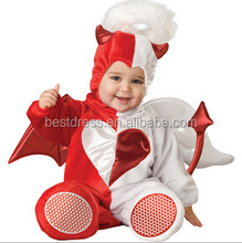 walson100% organic cotton blankbaby clothes cheap made in china made in china red angle costume