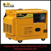 Power Value China Zhejiang Hand Crank Key Switch For 7500 watt Diesel Generator