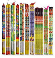 Crackling Comet 15 Balls Roman Candle Mortar Chinese Bangers