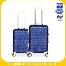 100 % pc fancy luggage travel luggage with airplane wheels