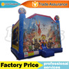 Cartoon Inflatable Bouncer Jumping Castle Fun House for Kids