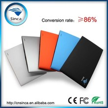 Sinca E-lune new design power bank charger,5500mah li-polymer manual for power bank battery charger
