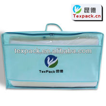 Zipper Top Sealing & Handle and Embroidery Surface comforter zipper bags