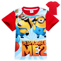 China Kids Fashion Despicable Me Silly Minion T-shirt Made In China