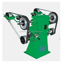 DL-018 Sand Belt Metal Polishing Machine for polishing hardware application,sanitary industry and small bent pipe