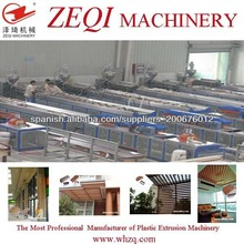 máquina de compuesto de madera plástica para panel de yeso / madera máquina de plástico