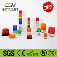 Manufacture warning light IP30 blue red yellow green warning beacon light with siren