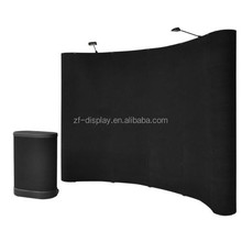 8'x10' ft pop up display Straight/Curved