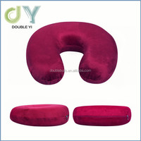 2015Portable U shape memory foam gel travel pillow baby neck supporter