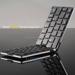 Portable Flyshark iLepo 360 top sale mini wireless keyboard for android, foldable wholesale mini bluetooth keyboard for iphone 6