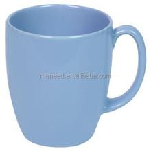 แสงสีฟ้าถ้วยกาแฟเมลามีนที่มีการจัดการ