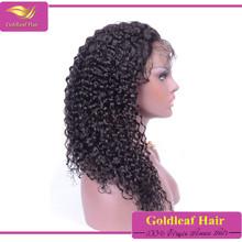 Fashion wavy 100 virgin human brazilian hair wigs for black women