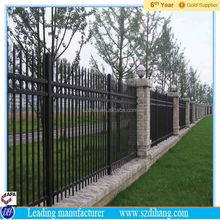 temporary fence panel hot sale/metal dog fence/aluminium fence price factory