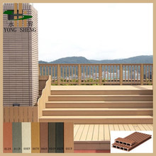 Decorative Artifical Wood outdoor wood plastic composite decking floor/wpc/CE/Intertek/Reach/RoHS