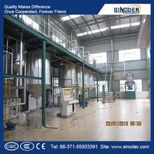 hot sales in Africa! 3T/D edible oil refining machine oil refining plant palm oil refining process