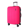 Lightweight Fashion abs and pc travel Luggage Suitcase
