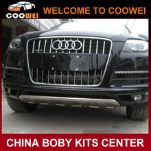 High quality stainless steel material front bumper guard for Audi Q7